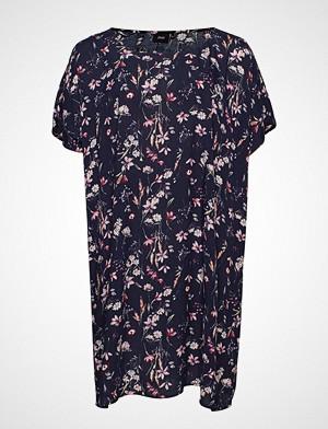 Zizzi kjole, Ehamley, S/S, Dress Kort Kjole Blå ZIZZI