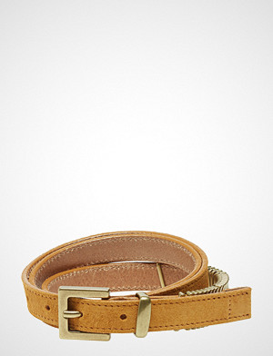 Cala Jade belte, Mini Rattle Belt Belte Brun CALA JADE