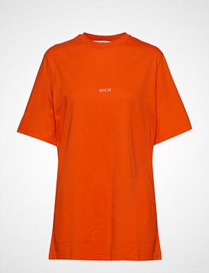 MSGM T-skjorte, T-Shirt T-shirts & Tops Short-sleeved Oransje MSGM