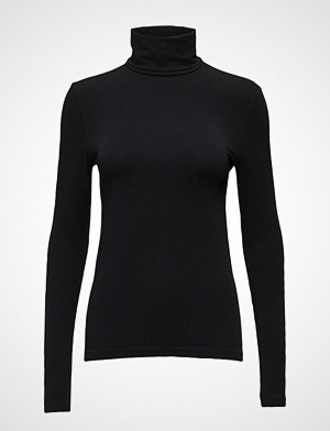 Wolford T-skjorte, Viscose Pullover T-shirts & Tops Long-sleeved Svart WOLFORD