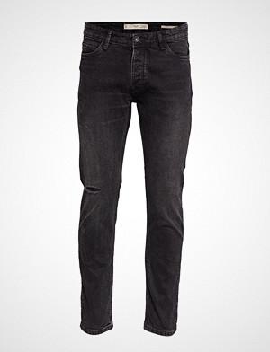 Mango Man collegegenser, Slim Fit Black Tim Jeans Slim Jeans Svart MANGO MAN