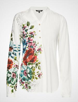 Desigual skjorte, Blus Aruba Langermet Skjorte Hvit DESIGUAL