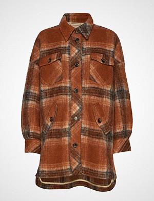 Lovechild 1979 skjorte, Freja Shirt Langermet Skjorte Brun LOVECHILD 1979