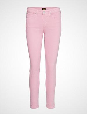 Lee Jeans bukse, Scarlett Stramme Bukser Stoffbukser Rosa LEE JEANS