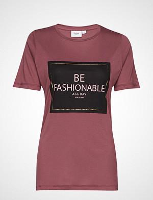 Saint Tropez T-skjorte, U1511, Jersey T-Shirt S/S T-shirts & Tops Short-sleeved Lilla SAINT TROPEZ