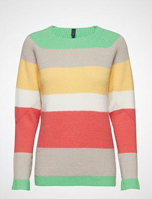 Pulz Jeans genser, Becca Stripe Pullover Strikket Genser Multi/mønstret PULZ JEANS