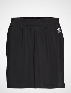 Adidas Originals skjørt, Sc Skirt Kort Skjørt Svart ADIDAS ORIGINALS