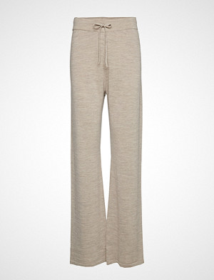 Cathrine Hammel bukse, Knitted Pants Vide Bukser Grå CATHRINE HAMMEL
