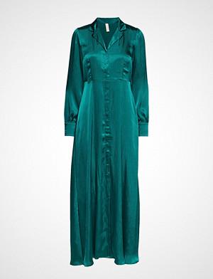 Yas kjole, Yaspilia Long Shirt Dress - Da Maxikjole Festkjole Grønn YAS