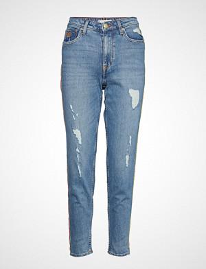 Tommy Hilfiger jeans, Gramercy Tapered Hw, Skinny Jeans Blå TOMMY HILFIGER