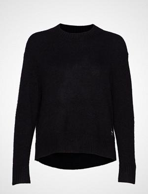 Calvin Klein genser, Alpaca Blend Sweater Strikket Genser Svart CALVIN KLEIN JEANS