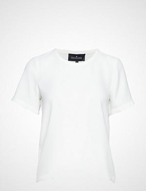 DESIGNERS, REMIX T-skjorte, Poppy Tee T-shirts & Tops Short-sleeved Hvit DESIGNERS, REMIX