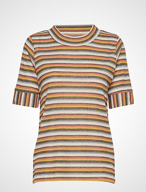 Ichi T-skjorte, Ihverona Ss T-shirts & Tops Short-sleeved Multi/mønstret ICHI