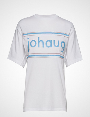 JOHAUG T-skjorte, Active Tee 2.0 T-shirts & Tops Short-sleeved Hvit JOHAUG