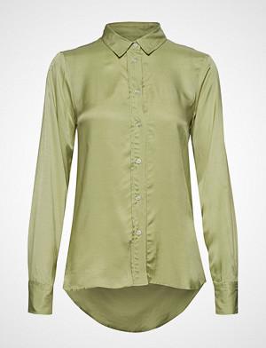 Soaked in Luxury skjorte, Sl Jeanette Shirt Ls Langermet Skjorte Grønn SOAKED IN LUXURY