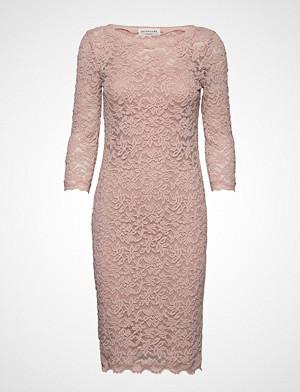 Rosemunde kjole, Dress 3/4s Knelang Kjole Rosa ROSEMUNDE