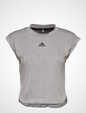 adidas Tennis T-skjorte, Ny Womens Tee T-shirts & Tops Short-sleeved Grå ADIDAS TENNIS
