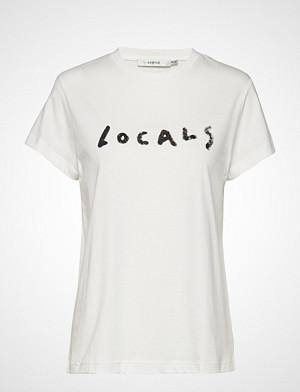 Gestuz T-skjorte, Locals Tee Ms19 T-shirts & Tops Short-sleeved Hvit GESTUZ