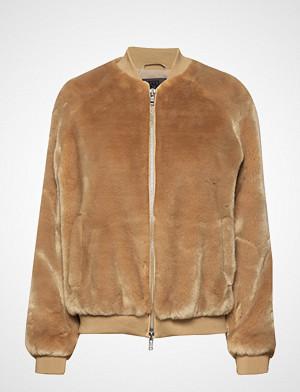 Brixtol Textiles jakke, A.J Fur Jakke Beige BRIXTOL TEXTILES
