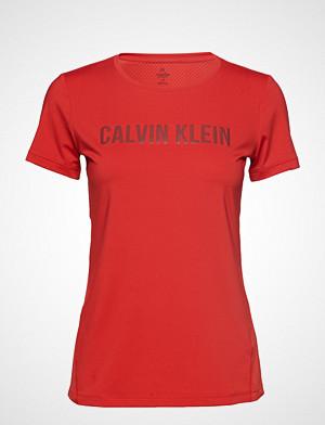 Calvin Klein Performance T-skjorte, Short Sleeve Tee T-shirts & Tops Short-sleeved Rød CALVIN KLEIN PERFORMANCE