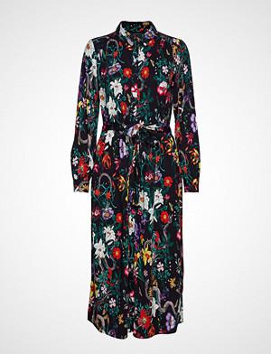 Soft Rebels kjole, Moon Long Dress Knelang Kjole Blå SOFT REBELS