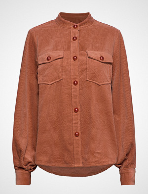 Coster Copenhagen skjorte, Jacket In Corduroy Langermet Skjorte Brun COSTER COPENHAGEN