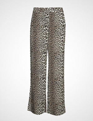 Notes du Nord bukse, Lydia Leopard Pants Vide Bukser Brun NOTES DU NORD