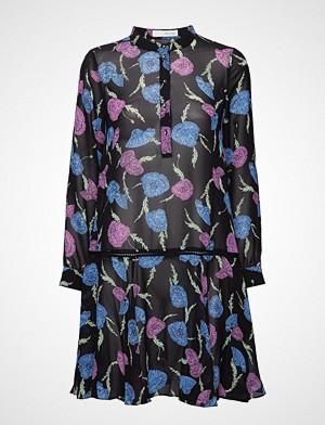 Pieszak kjole, Gillian Volumn Dress Knelang Kjole Multi/mønstret PIESZAK