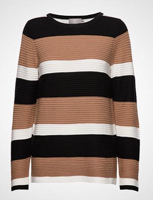 Brandtex genser, Pullover-Knit Light Strikket Genser Brun BRANDTEX