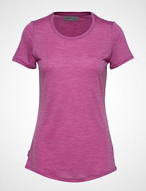 Icebreaker T-skjorte, Wmns Sphere Ss Low Crewe T-shirts & Tops Short-sleeved Rosa ICEBREAKER