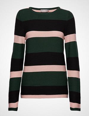 Brandtex genser, Pullover-Knit Light Strikket Genser Grønn BRANDTEX