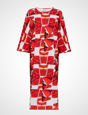 R/H Studio kjole, Mumba Dress Knelang Kjole Rød R/H STUDIO