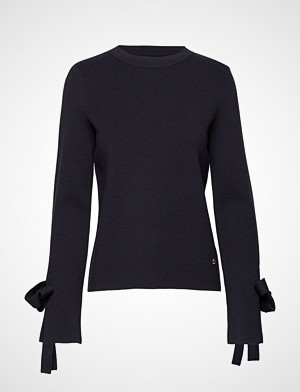 Morris Lady genser, Valere Knit Strikket Genser Blå MORRIS LADY