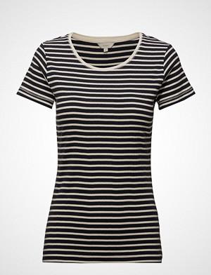 Signal T-skjorte, T-Shirt/Top T-shirts & Tops Short-sleeved Blå SIGNAL