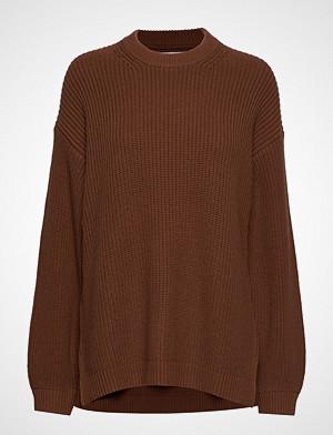 Envii genser, Endiego Ls Long Knit 5207 Strikket Genser Brun ENVII