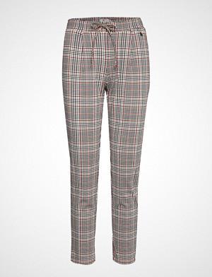 Fransa bukse, Frficheck 4 Pants Bukser Med Rette Ben Multi/mønstret FRANSA