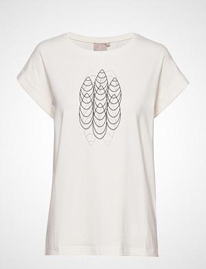 Brandtex T-skjorte, T-Shirt S/S T-shirts & Tops Short-sleeved Hvit BRANDTEX