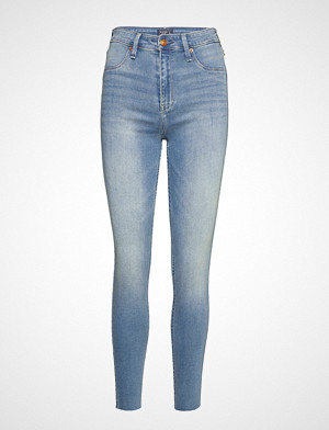 Abercrombie & Fitch jeans, High Rise Jean Legging Skinny Jeans Blå ABERCROMBIE & FITCH