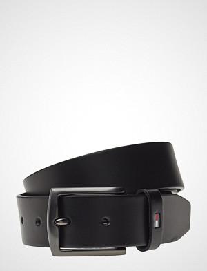 Tommy Hilfiger Denton Leather 3.5 Accessories Belts Classic Belts Svart Tommy Hilfiger