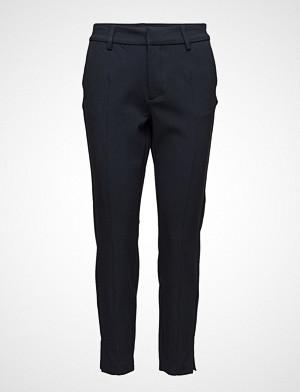Pulz Jeans bukse, Clara Above Ankle Pant Stramme Bukser Stoffbukser Svart PULZ JEANS