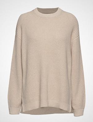 Envii genser, Endiego Ls Long Knit 5207 Strikket Genser Creme ENVII