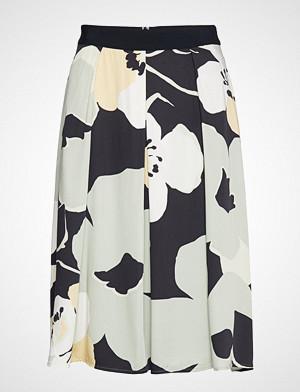 Esprit Collection skjørt, Skirts Light Woven Knelangt Skjørt Multi/mønstret ESPRIT COLLECTION