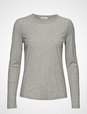 Levete Room T-skjorte, Lr-Any T-shirts & Tops Long-sleeved Grå LEVETE ROOM