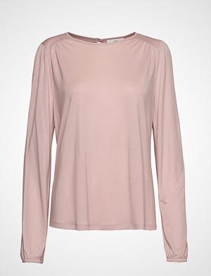 Lexington Clothing T-skjorte, Lilja Jersey Blouse T-shirts & Tops Long-sleeved Rosa LEXINGTON CLOTHING