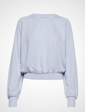 Hollister T-skjorte, Longsleeve Boyfriend Top T-shirts & Tops Long-sleeved Blå HOLLISTER