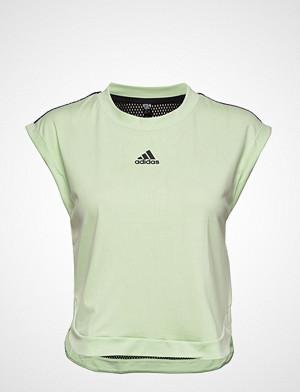 adidas Tennis T-skjorte, Ny Womens Tee T-shirts & Tops Short-sleeved Grønn ADIDAS TENNIS
