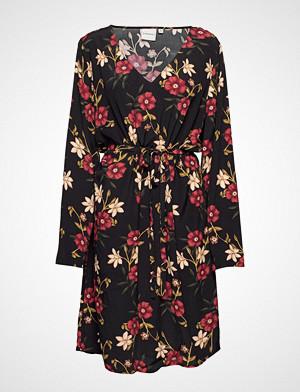 Junarose kjole, Jrmalenakeenan Ls Above Knee Dress - K Knelang Kjole Svart JUNAROSE