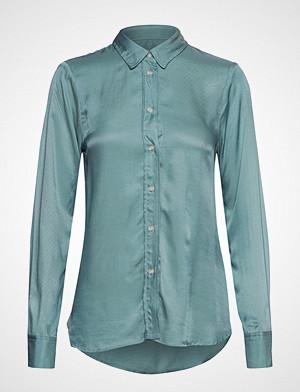 Soaked in Luxury skjorte, Sl Jeanette Shirt Ls Langermet Skjorte Blå SOAKED IN LUXURY