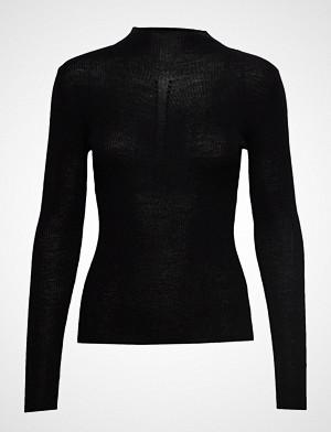 Sand T-skjorte, Fellini Rib - Eleri Top T-shirts & Tops Long-sleeved Svart SAND