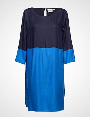 Junarose kjole, Jrazkia 3/4 Sleeve Above Knee Dress - K Knelang Kjole Blå JUNAROSE